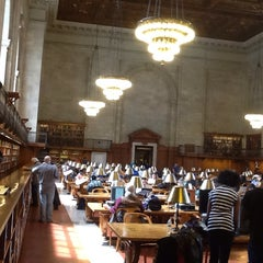 Photo taken at Rose Main Reading Room by Vittorio C. on 4/22/2014