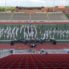 Photo taken at Buddy Echols Field by Brenda N. on 9/19/2014