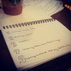 Photo taken at Starbucks by Meghan H. on 1/15/2015