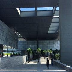 Photo taken at Distrito Telefónica - Oeste 2 by Armin G. on 6/26/2014