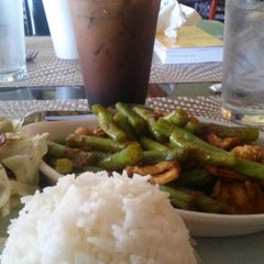 Photo taken at Luck Thai by Michelle M. on 4/23/2014