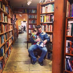 Photo taken at Poor Richard's Bookstore by Matt M. on 4/5/2014