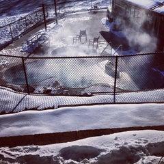 Photo taken at Christmas Mountain Clubhouse Pool by Santiago G. on 1/7/2014