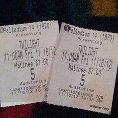 Photo taken at Regal Cinemas Palladium 14 & IMAX by Tiffany W. on 11/16/2012