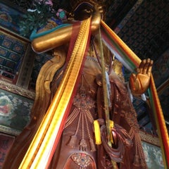 Photo taken at 雍和宫 Yonghegong Lama Temple by Jeffrey Yeo on 12/7/2012