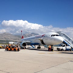 Photo taken at Dubrovnik Airport (DBV) by chibirashka k. on 9/17/2012