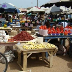 Photo taken at Madina Market by Nana K. on 11/23/2013