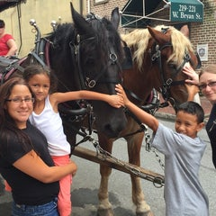 Photo taken at Historic Savannah Carriage Tours by Zamarina P. on 9/7/2015