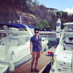 Photo taken at Punta Fuego Yacht Club by Charleston G. on 4/6/2014