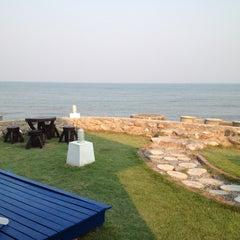 Photo taken at White Beach Resort by babomm b. on 3/6/2013