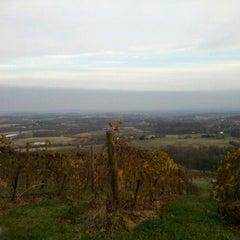 Photo taken at Bluemont Vineyard by Amanda H. on 11/15/2012