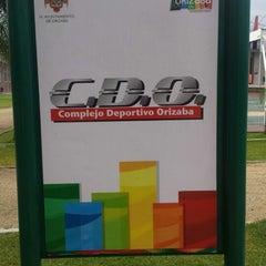 Photo taken at Complejo Deportivo Orizaba (CDO) by Jorge C. on 10/22/2013