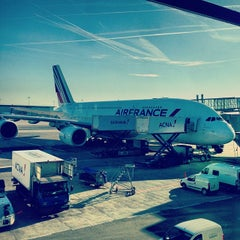 Photo taken at Aéroport Paris-Charles de Gaulle (CDG) by Georgy on 11/11/2013