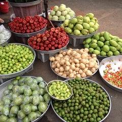 Photo taken at Nguyen Tri Phuong Market by Hiroto O. on 1/4/2014