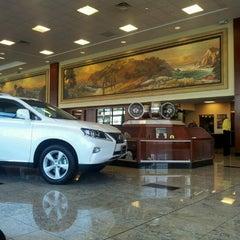 Photo taken at Lexus of Glendale by Cherise V. on 10/2/2013