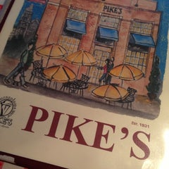 Photo taken at Pike's Old Fashioned Soda Shop by tinesha m. on 4/9/2013