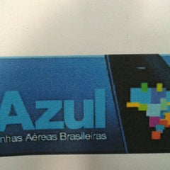 Photo taken at Check-in Azul by Adriano V. on 1/27/2013