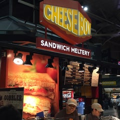 Photo taken at Cheeseboy: Grilled Cheese To Go by Rob K. on 11/23/2014