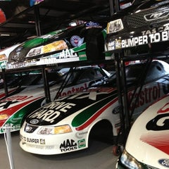 Photo taken at John Force Racing by Tribbit🌜 D. on 12/2/2012