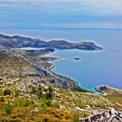 Photo taken at Skrivena Luka by Cacan on 6/21/2014