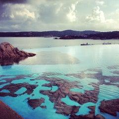 Photo taken at Hotel Pitrizza, Costa Smeralda by Ира Р. on 9/26/2013