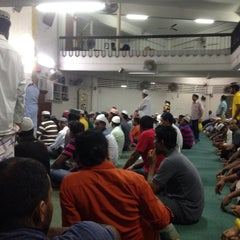Photo taken at Masjid Angullia (Mosque) by Amjad A. on 7/15/2015