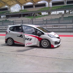 Photo taken at Media Centre | Sepang International Circuit by Famie S. on 10/23/2013