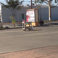 Photo taken at Long beach car wash & Lube Center by Angela L. on 10/11/2013