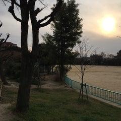 Photo taken at 大曽公園 大曽公園北 by doukita on 12/31/2014