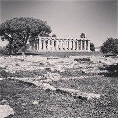 Photo taken at Area Archeologica di Paestum by Pavel T. on 10/18/2013