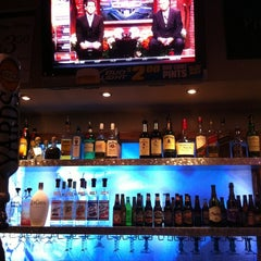 Photo taken at Pat's Pizza Family Restaurant/MVP Sports Lounge by John S. on 12/18/2012