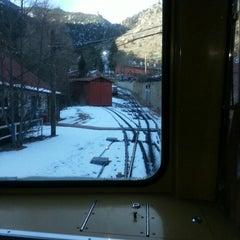 Photo taken at Pikes Peak Cog Railway by BlingBlinkyofTEXAS B. on 12/23/2012