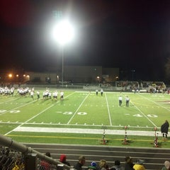 Photo taken at Pewaukee High School by Erik C. on 10/26/2013
