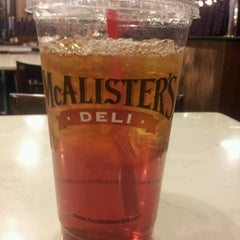 Photo taken at McAlister's Deli by Julie H. on 11/15/2012