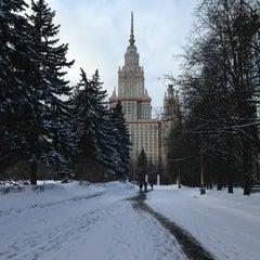Photo taken at Юридический факультет МГУ by Sasha T. on 3/13/2013
