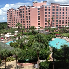 Photo taken at Caribe Royale All-Suite Hotel & Convention Center by Ignacio G. on 7/10/2013