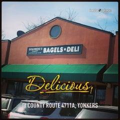 Photo taken at Goldberg's Bagels & Deli by J Darren H. on 3/1/2014