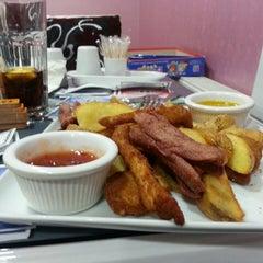 Photo taken at Yalı Cafe & Restaurant by Berk S. on 6/30/2013