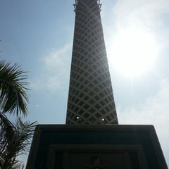 Photo taken at Cairo Tower | برج القاهرة by Lara H. on 9/30/2012