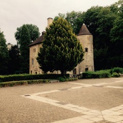 Photo taken at Domaine de Volkrange by Catherine P. on 7/22/2015