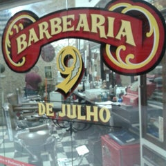 Photo taken at Barbearia 9 de Julho by Nicoli S. on 10/28/2013