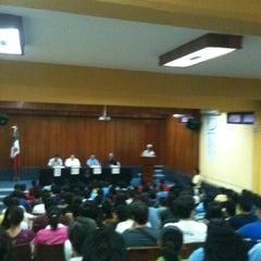 Photo taken at Facultad de Contaduría y Administración UADY by Guillermo T. on 9/26/2012