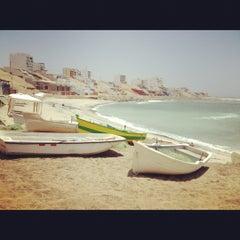 Photo taken at Playa Señoritas by Silvana L. on 11/23/2012
