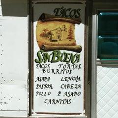 Photo taken at Tacos San Buena by Romeo Q. on 7/27/2015