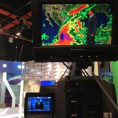 Photo taken at TV Azteca Noreste by JOn P. on 10/24/2015