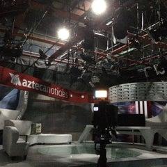 Photo taken at TV Azteca Noreste by JOn P. on 4/9/2016