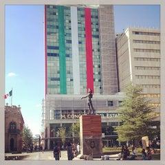 Photo taken at Plaza de Armas by Valente T. on 9/24/2013