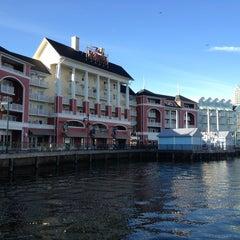 Photo taken at Disney's Boardwalk Villas by C.J. G. on 12/28/2012