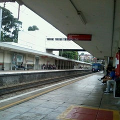 Photo taken at Estação Pirituba (CPTM) by Jeferson F. on 12/23/2012