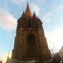 Photo taken at University Church of St. Mary the Virgin by Erdem U. on 10/14/2012